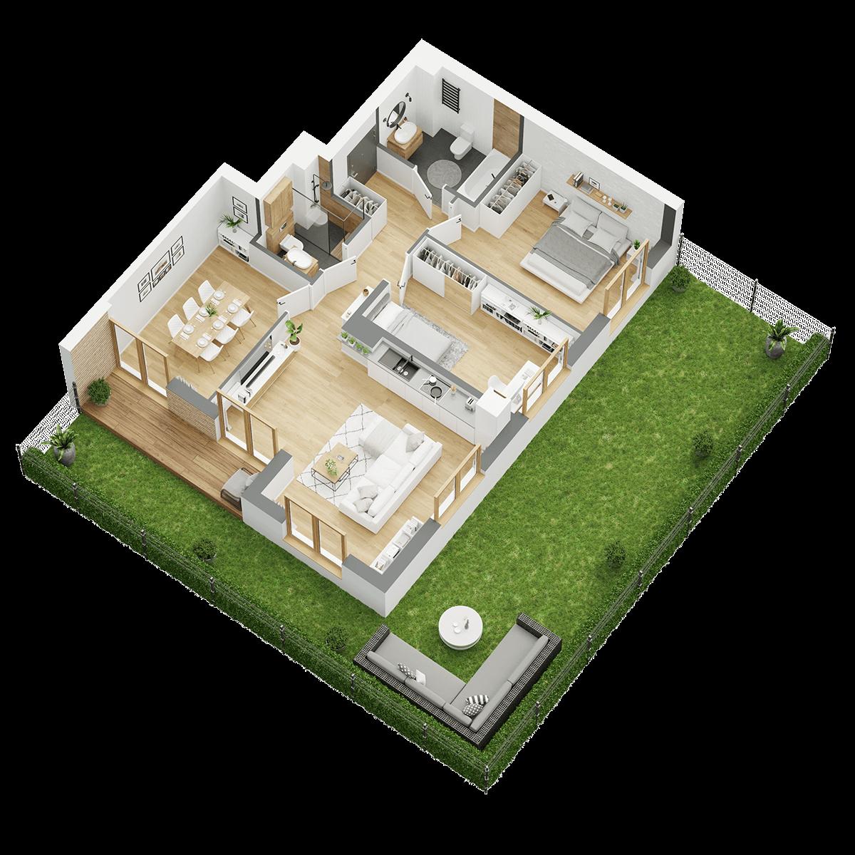 Wygodne mieszkania